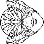 Раскраска масок распечатать