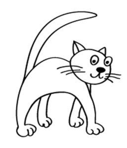 Раскраска Веселые коты | Сайт для мам