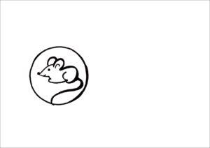 Мышонок рисунок